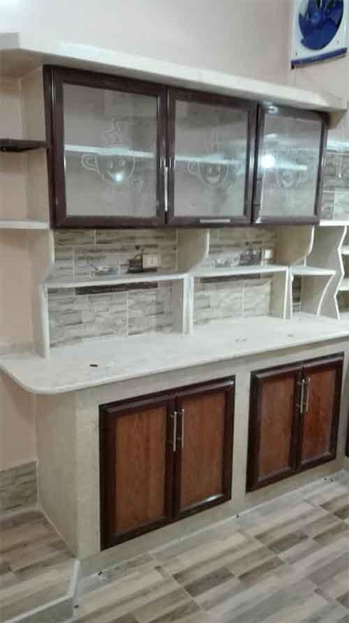 مطابخ من الرخام والجرانيت بتقفيل الوميتال للمطبخ