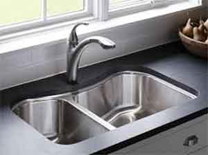 احواض المطبخ داخل الرخام