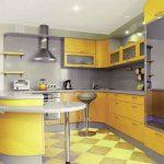 ديكورات لجزيرة المطبخ اشكال حديثة مع رفوف مفتوحة مودرن